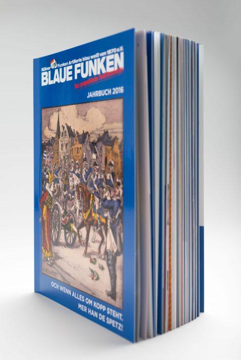 Kölner Funken Artillerie blau weiss von 1870 e.V.